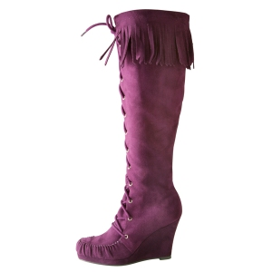 Patricia Field for Payless Cha-Cha fringe boot - SALE $59.99