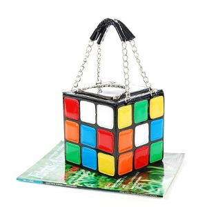 Rubik Cube handbag - $18