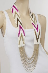 "Fiona Paxton ""Billie"" long necklace - GBP 165"