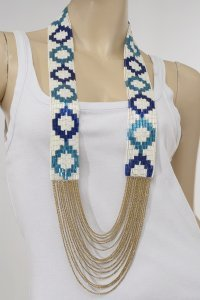 "Fiona Paxton ""Rozae"" long necklace - GBP 165"